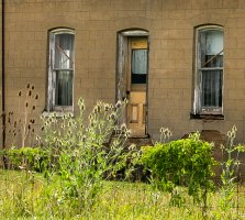 A second abandoned home we took a picture of in the Strathroy Area